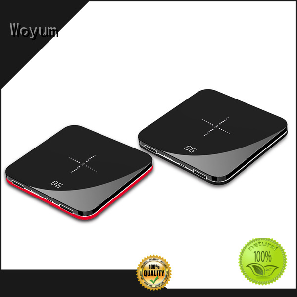 Woyum Custom compact power bank Suppliers for iPhone