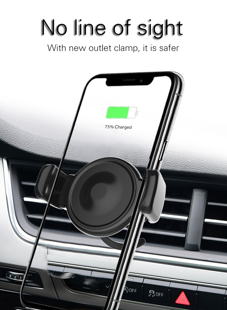Woyum Top Wireless Cell Phone Car Charger Supply for Android devices-12