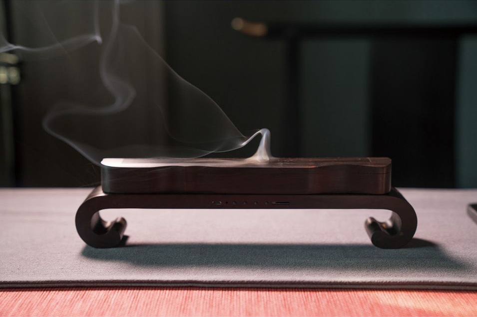 Incense Burner Integration with Buddhism&zither,Buddha Machine with Mp3 Player