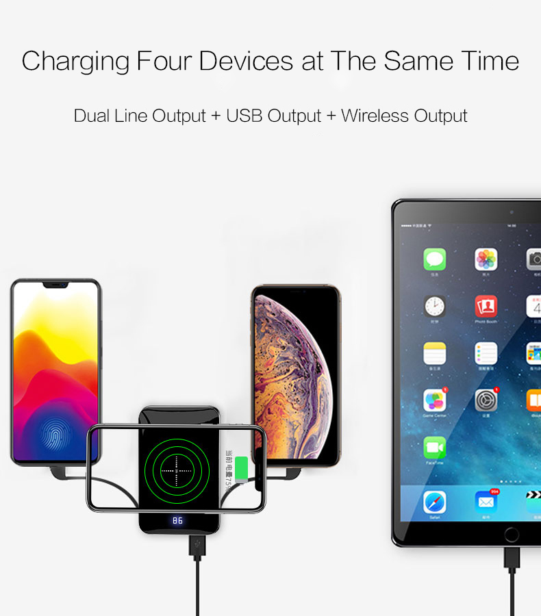 Woyum Custom portable wireless charger manufacturers for Android