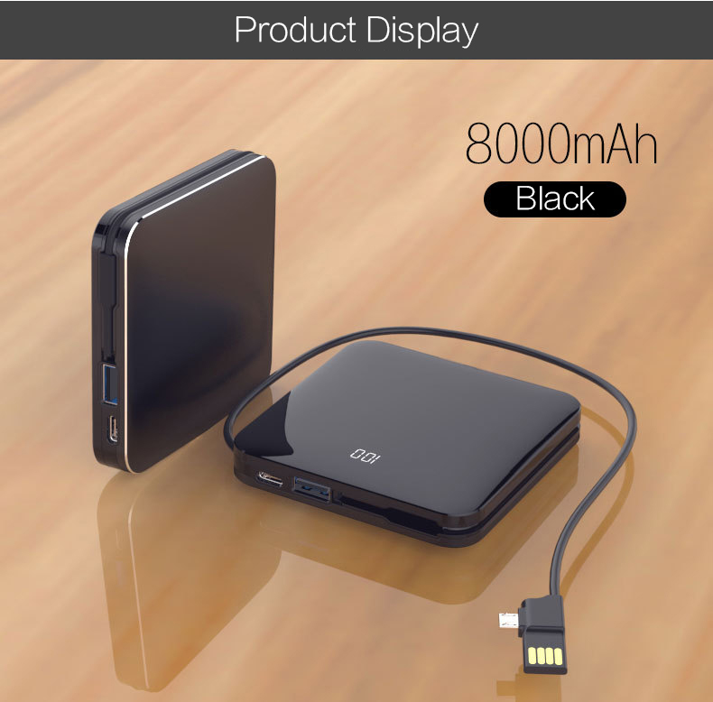 Woyum -Aa Battery Charger | Woyum Wireless Charger Power Bank,7800mah External-4