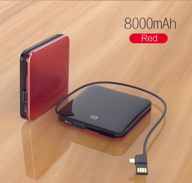 Woyum -Aa Battery Charger | Woyum Wireless Charger Power Bank,7800mah External-6