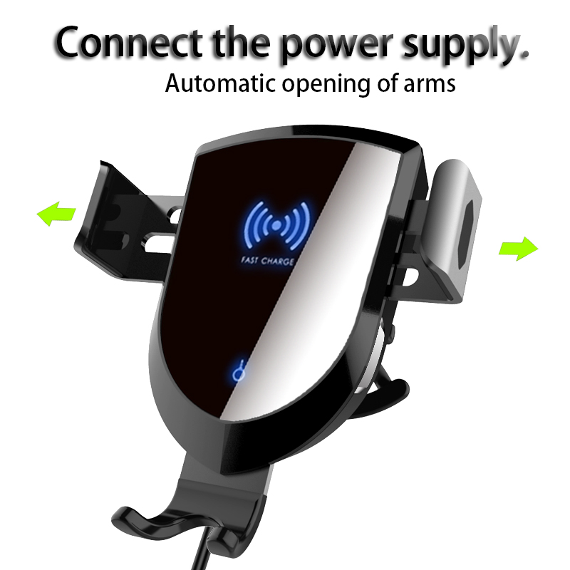 Woyum fast wireless car charger manufacturers for Apple Devices-9