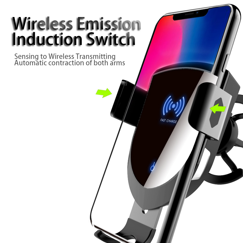 Woyum fast wireless car charger manufacturers for Apple Devices-13