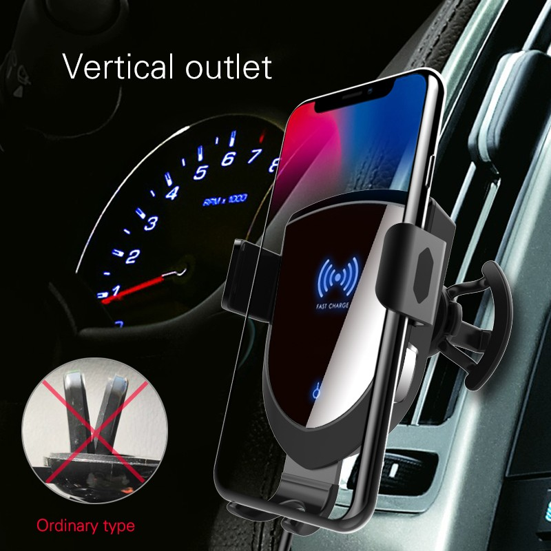 Woyum fast wireless car charger manufacturers for Apple Devices-15