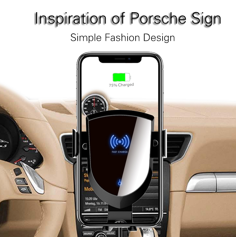 Woyum fast wireless car charger manufacturers for Apple Devices-20