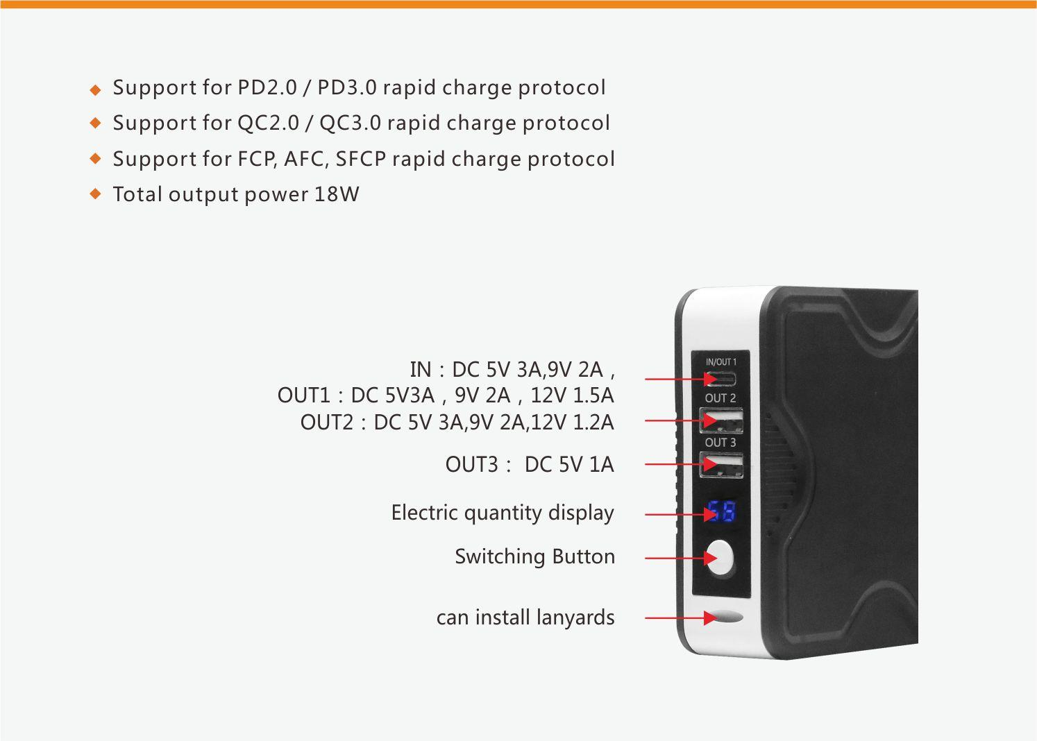 Latest power bank 10000mah for business for Android-3