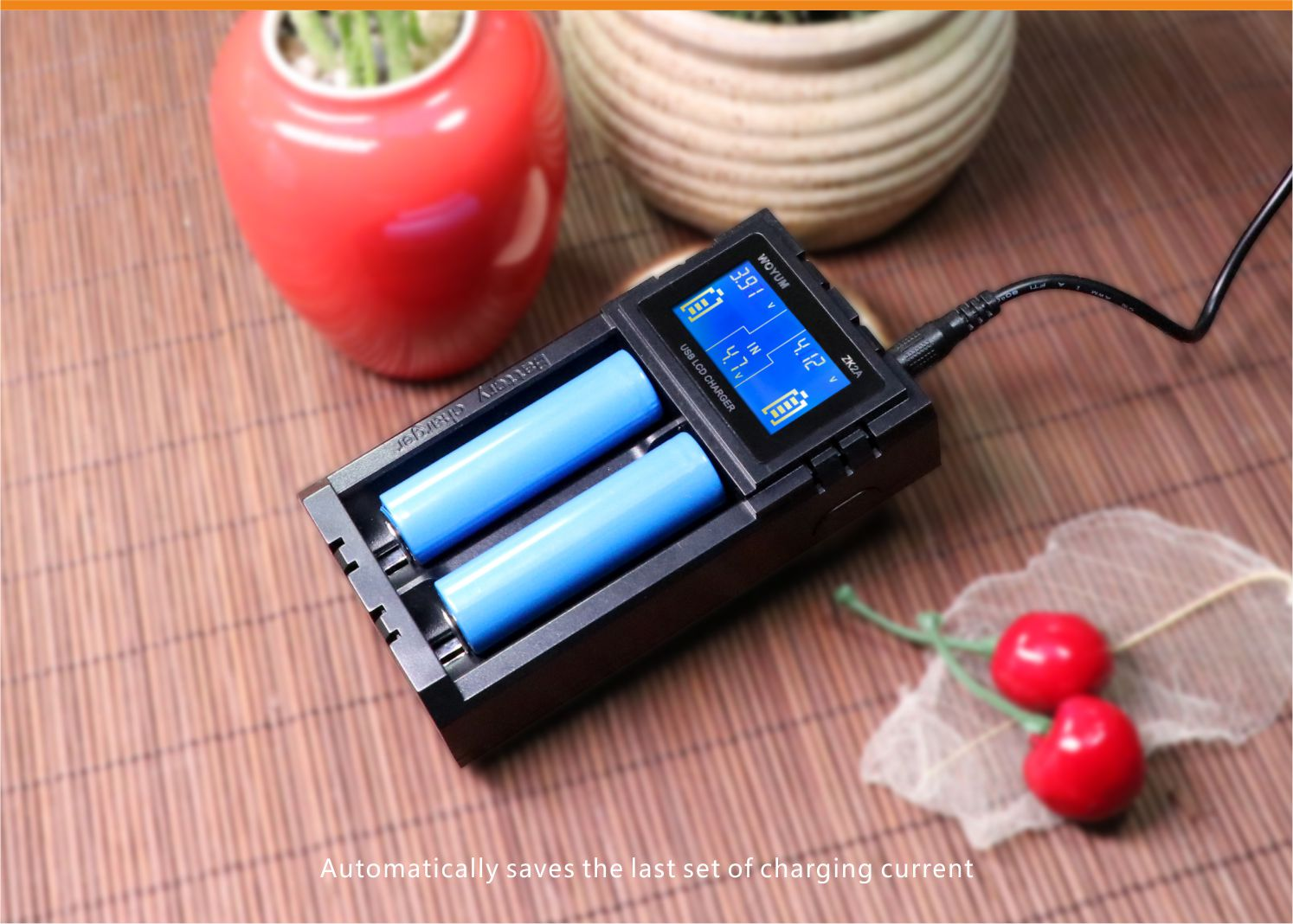 Woyum smart battery charger series for Li-ion-6