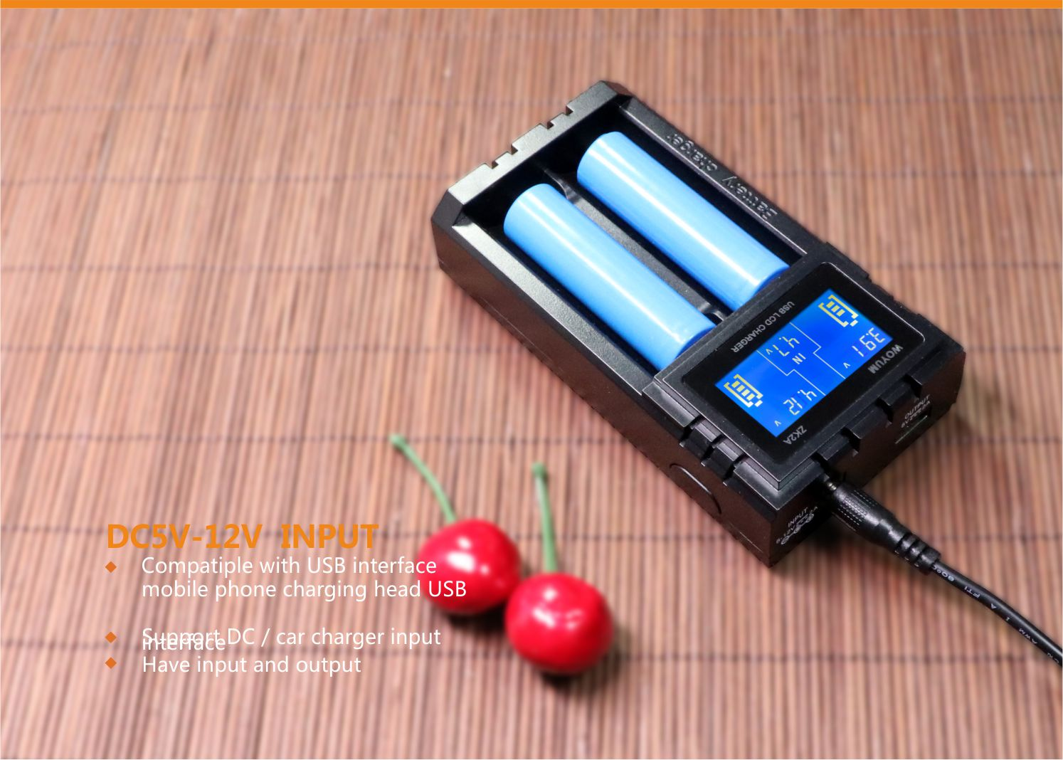 Woyum smart battery charger series for Li-ion-4