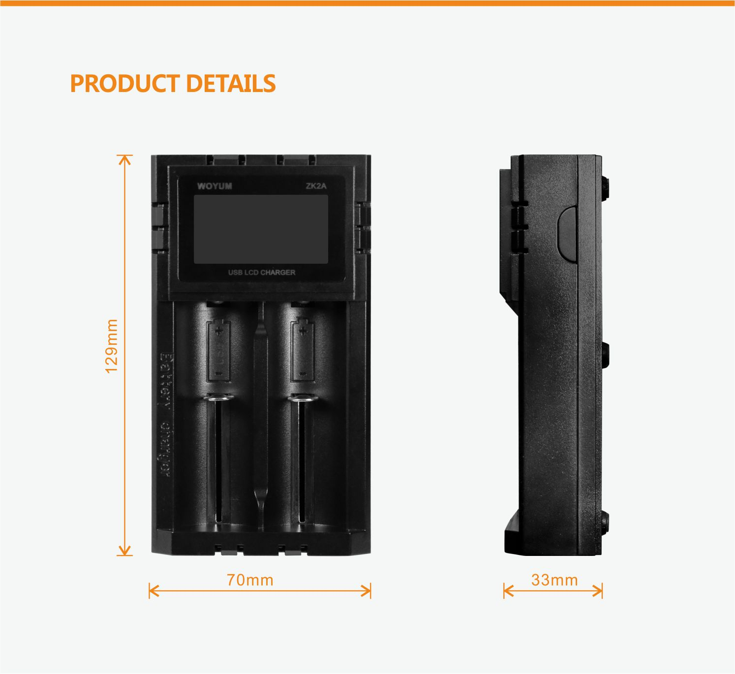 Woyum smart battery charger series for Li-ion-10