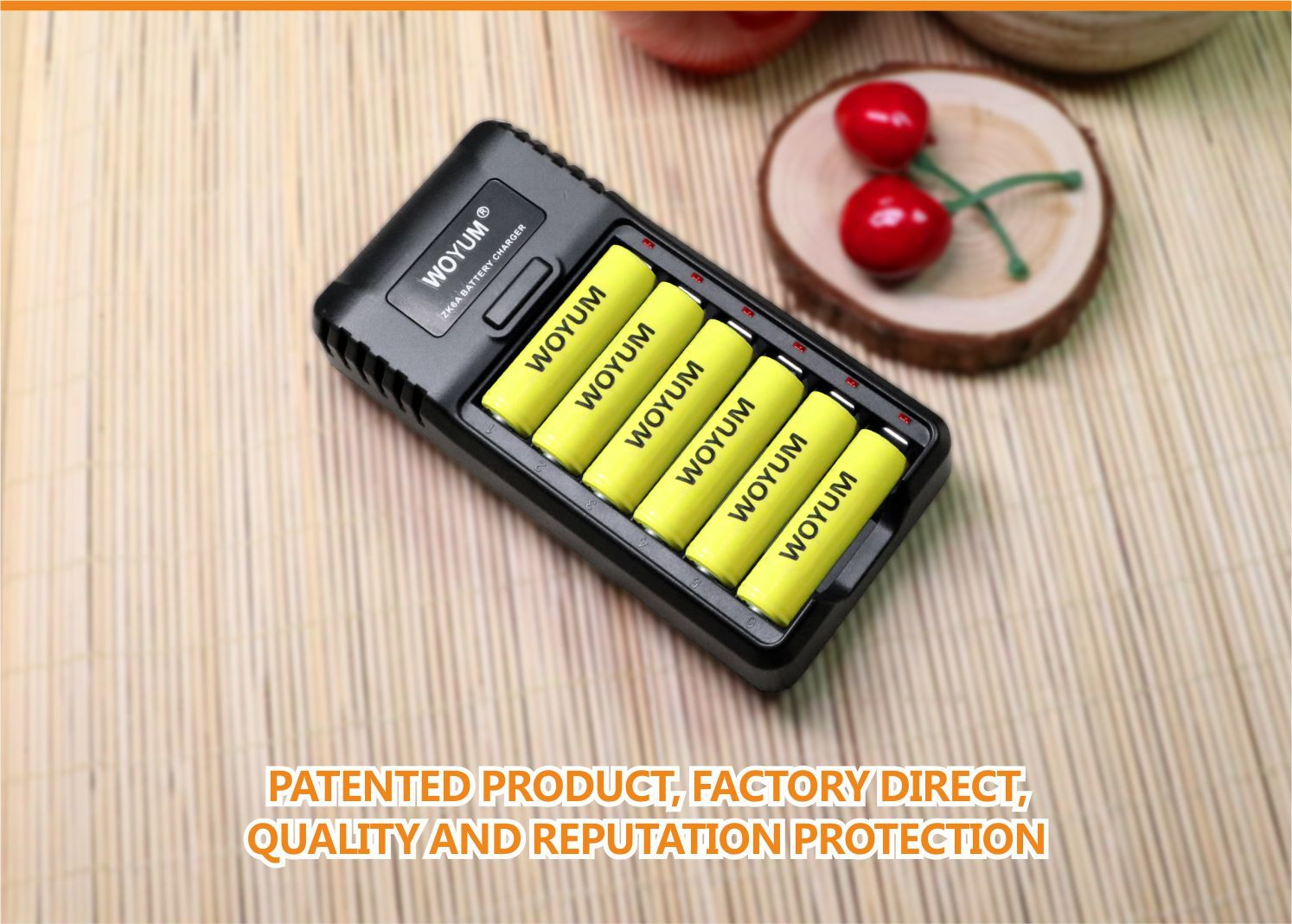 Woyum smart battery charger company for Ni-Cd