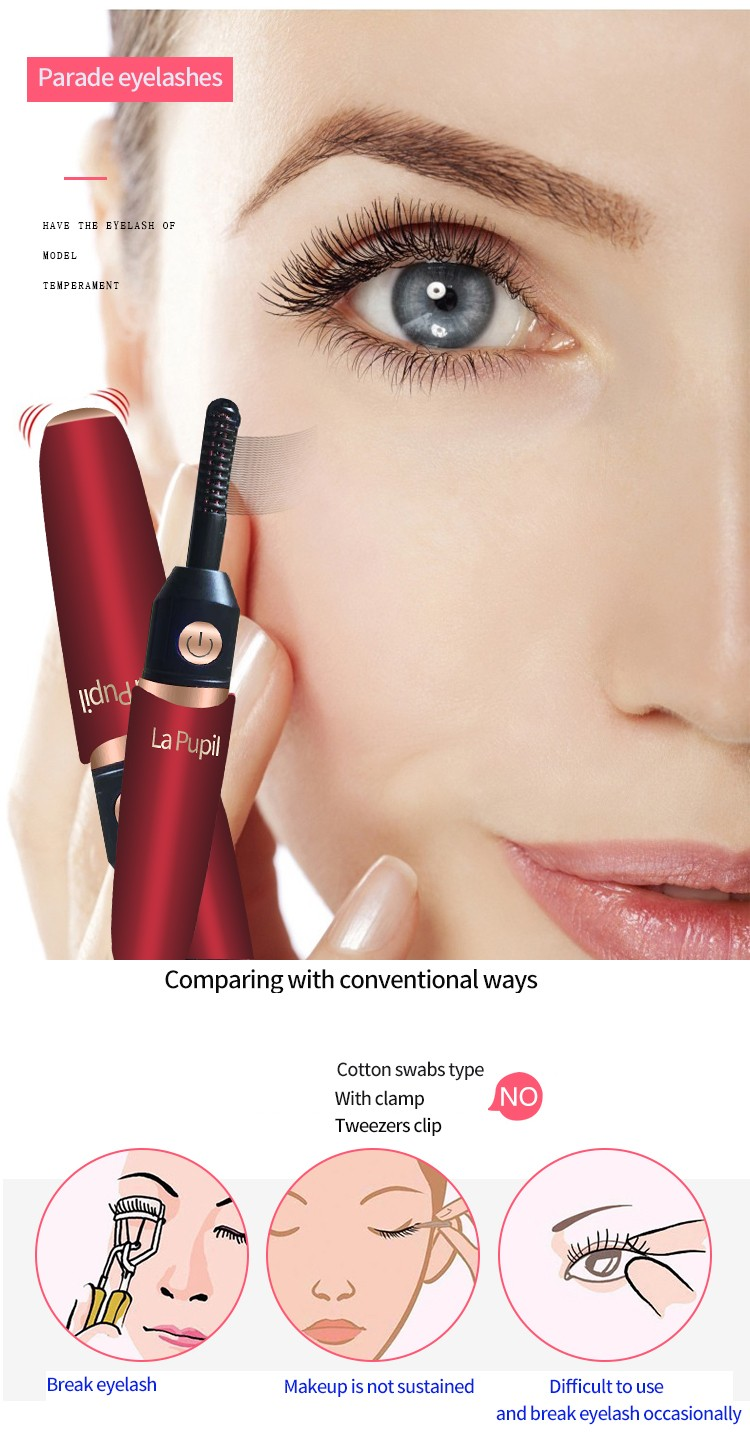 Best electric eyelash curler Suppliers top rated-3