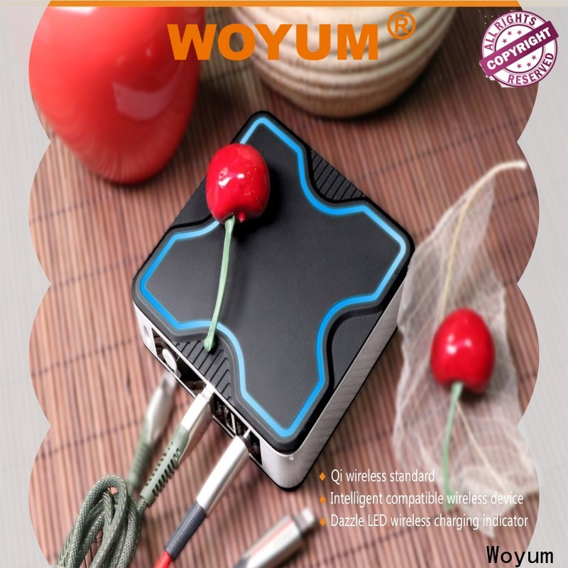Woyum Custom portable wireless charger factory for Android