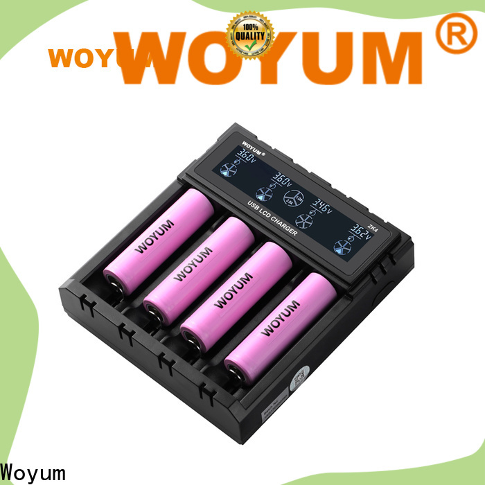 Woyum smart battery charger manufacturers for Li-ion