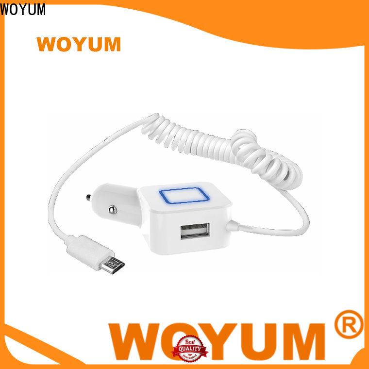 Woyum Custom usb car charger Supply for phone