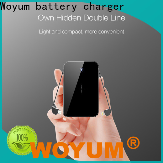 Woyum bamboo charger factory for iPhone