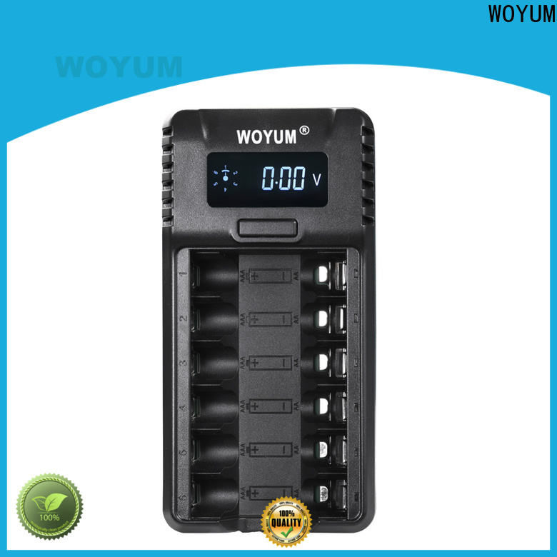 Woyum New intelligent battery charger Suppliers for Ni-MH