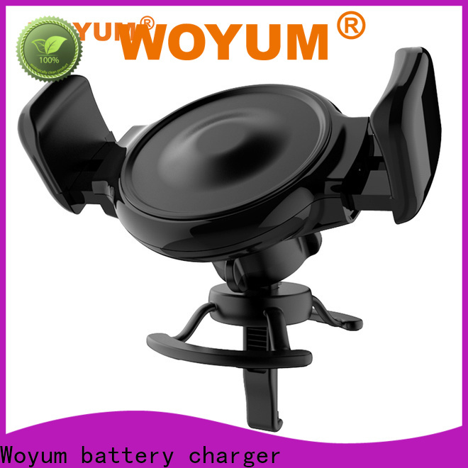 Woyum Wholesale fast wireless car charger factory for car