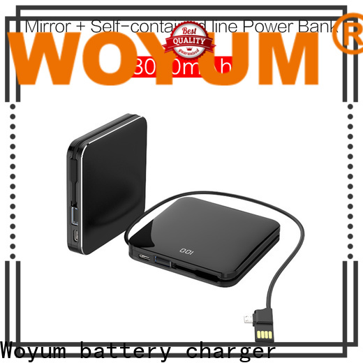Woyum portable wireless charger Suppliers for iPhone