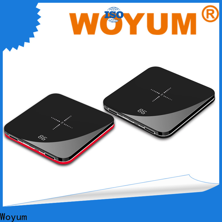 Woyum bamboo wireless charger Supply for phone