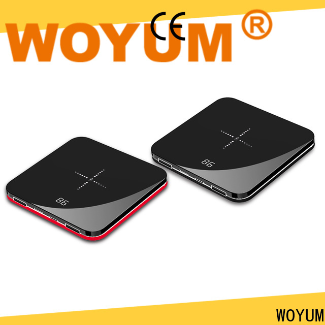 Woyum compact power bank for business for iPhone