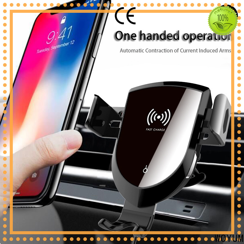 Woyum Custom best wireless car charger Supply for Apple Devices