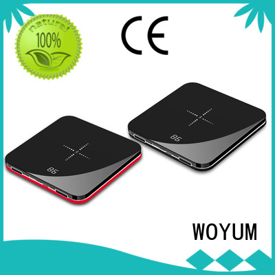 Woyum fast compact power bank supplier for iPhone