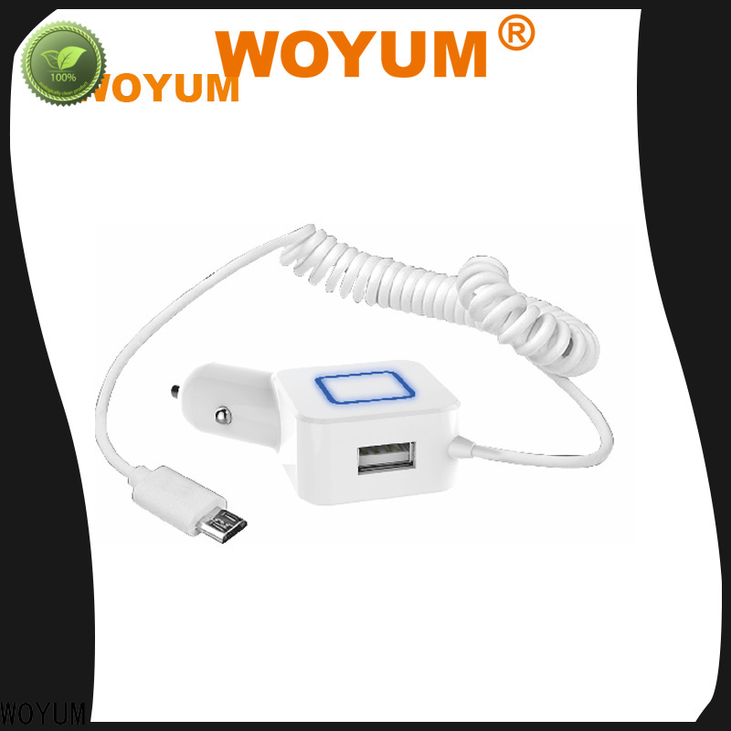 Woyum Custom usb car charger for business for Android devices