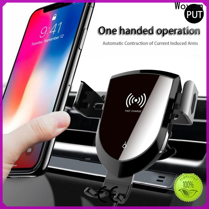 Woyum New car phone mount charger manufacturers for phone