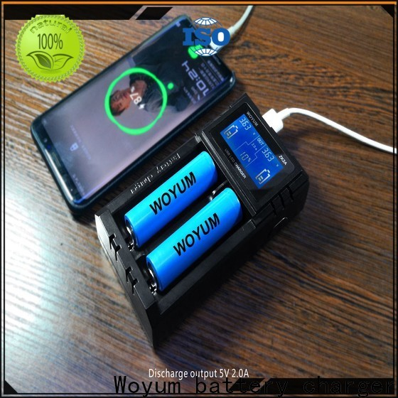 Woyum Custom smart battery charger Suppliers for IMR