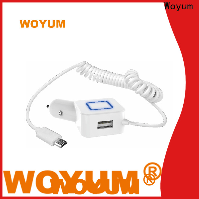 Woyum usb car charger manufacturers for phone