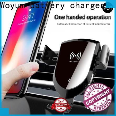 Woyum Top fast wireless car charger factory for phone