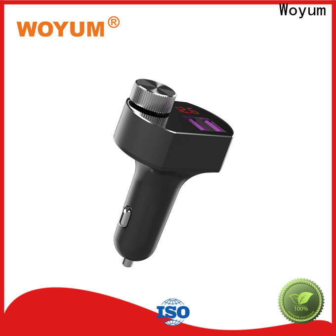 Woyum High-quality multi port usb car charger factory for car