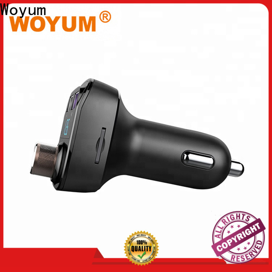 Woyum New multi port usb car charger Suppliers for phone