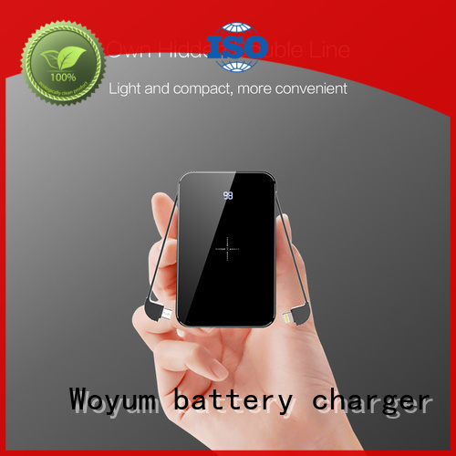 Woyum wood charger company for phone
