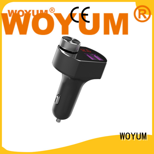 Woyum multi port usb car charger supplier for Android devices