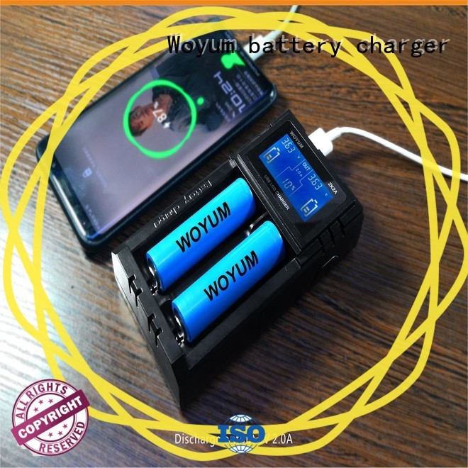Woyum security intelligent battery charger manufacturer for IMR