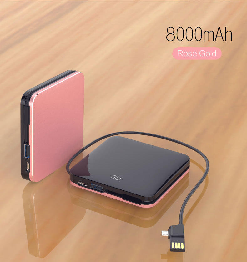 Woyum -Aa Battery Charger | Woyum Wireless Charger Power Bank,7800mah External
