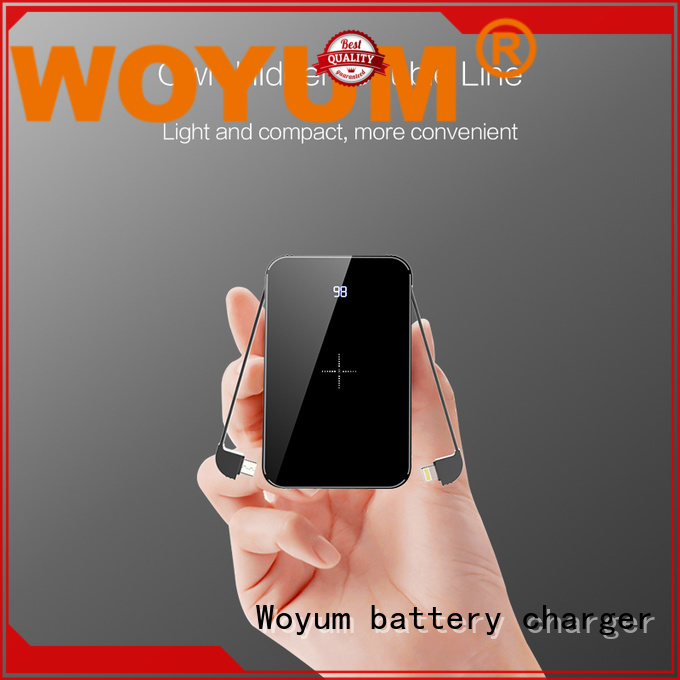Woyum Latest bamboo charger manufacturers for iPhone
