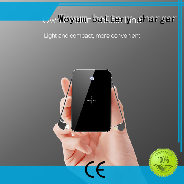Woyum charging by induction company for iPhone