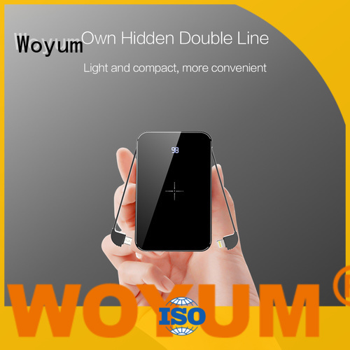 Woyum charging by induction company for Android