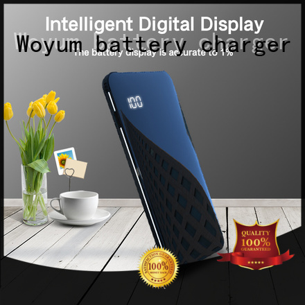 Woyum wooden quick battery charger wholesale