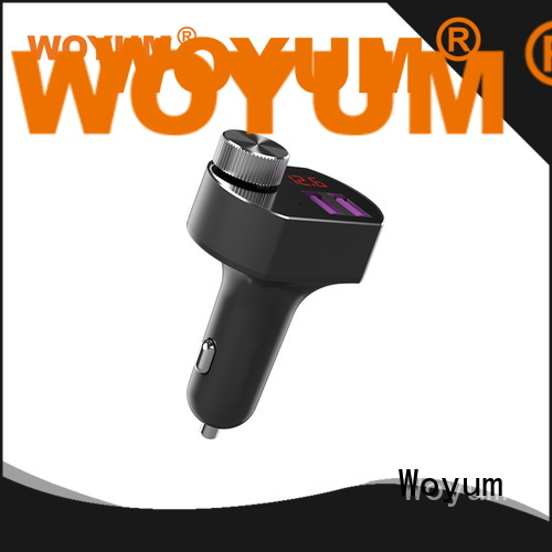 Woyum Top multi port usb car charger Supply for Apple Devices
