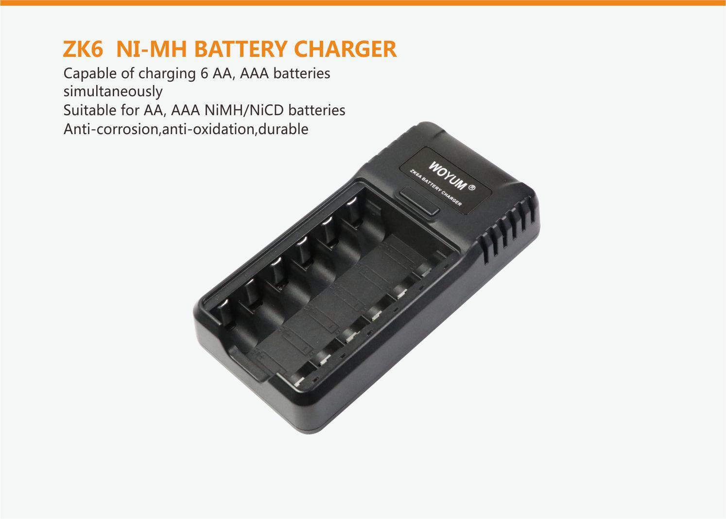Woyum smart battery charger company for Ni-Cd-2