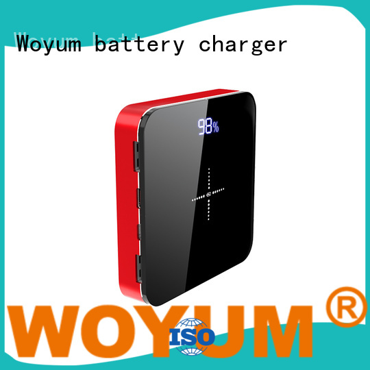Woyum wooden wood charger with pen container for Android