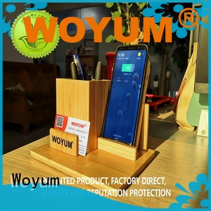 Woyum Custom portable wireless charger factory for phone