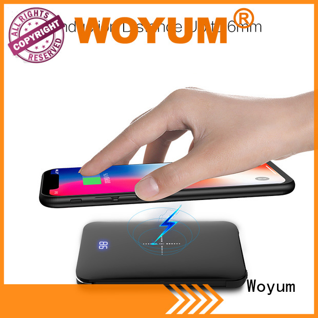 Woyum Latest wood charger Supply for Android