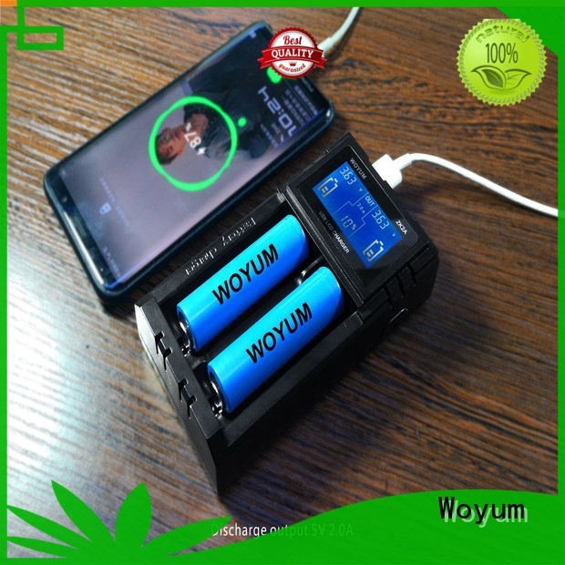 Woyum security best aa battery charger supplier for Ni-MH