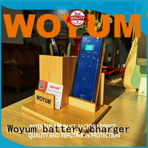 Woyum intelligent slim power bank manufacturer for Android