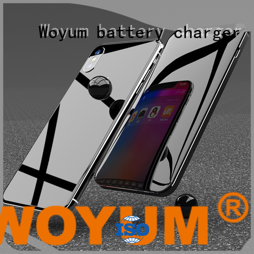 Woyum online compact power bank with pen container for iPhone